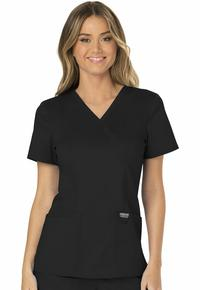 Wrap by Cherokee Uniform Division, Style: WW610-BLK